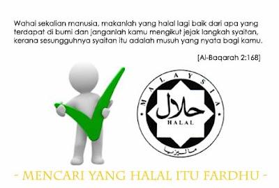 pilih, makanan, halal, pahala, makan, dalil, jakim, quran, kenyang, islamik, nasihat, info
