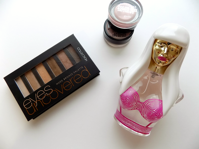 Nicki Minaj The Pinkprint perfume & Collection Eyes Uncovered palette