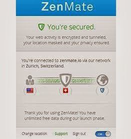 ZenMate change ip location openhow