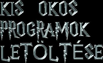 OKOS PROGRAMOK