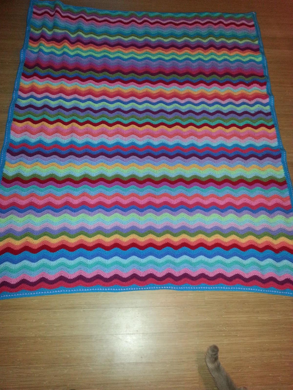 Neat Ripple Pattern Attic24 Little Wendy Crochet