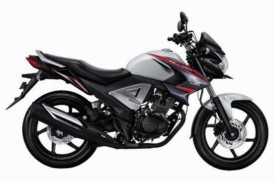 New Honda MegaPro FI White