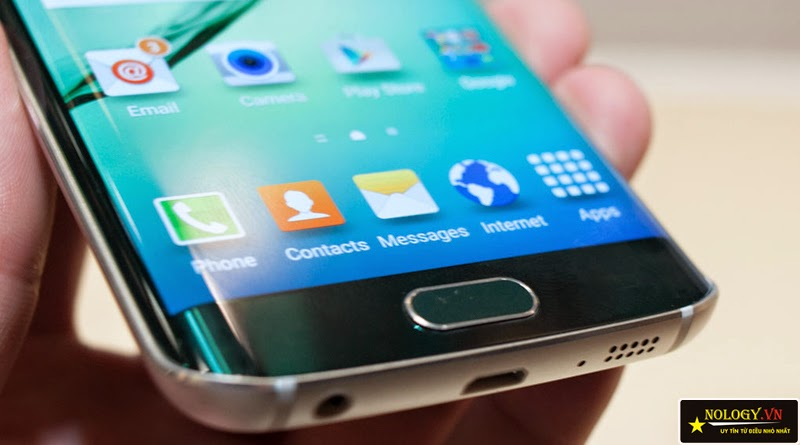 Samsung Galaxy S6 Adge xách tay thiết kế