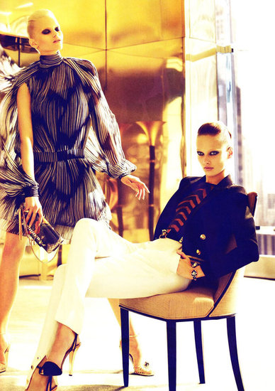 The spring/summer 2012 campaigns