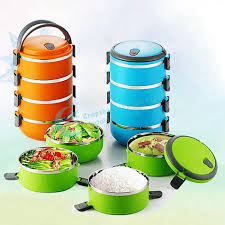 4 Layer Stainless Steel Lunch Box 2800ml