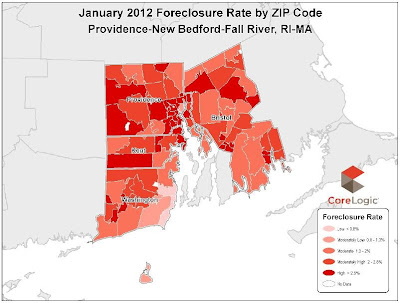 Rhode Island Foreclosure Rate