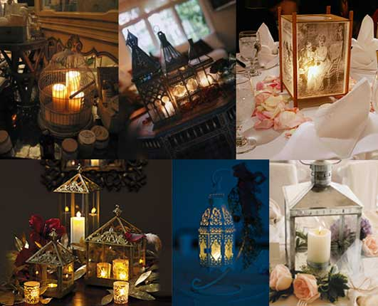 lamps available in the market that can be used as wedding centerpieces