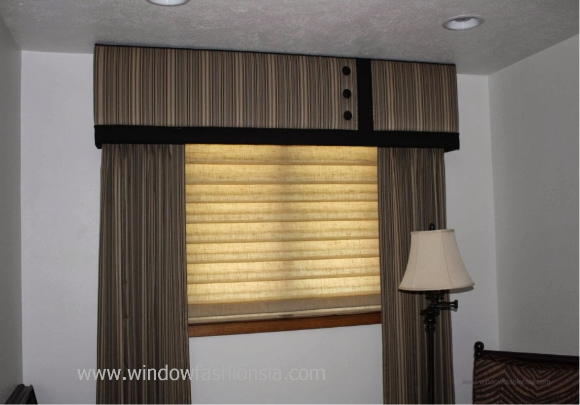 masculine window treatments classy this is bachelors den window that resembles cuff on shirt we enjoyed picking out masculine striped fabric to make the treatment work in window fashions cozy up in den