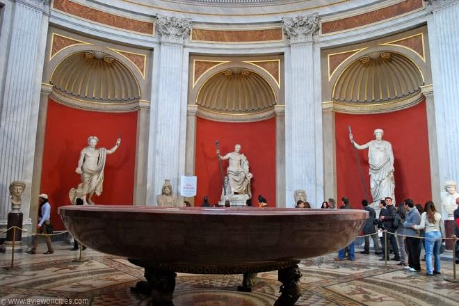 Red-porphry-bowl-from -ero's-Domus-Aurea