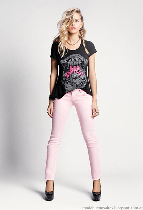 Tabatha Jeans verano 2015 pantalones de colores.