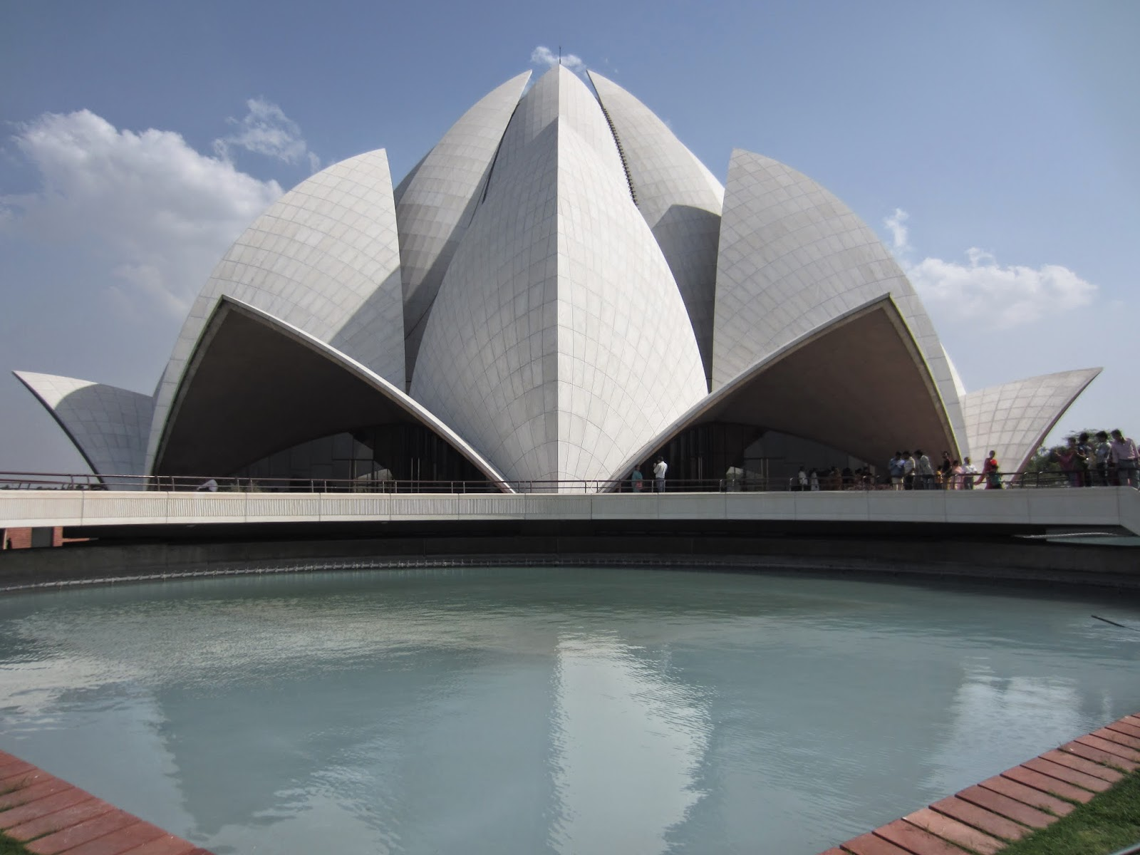 Lotus Temple Delhi, Delhi, Delhi Tourism, Baha'i temple Delhi, Places to see in Delhi