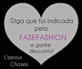 Desconto na loja L'amour Choses