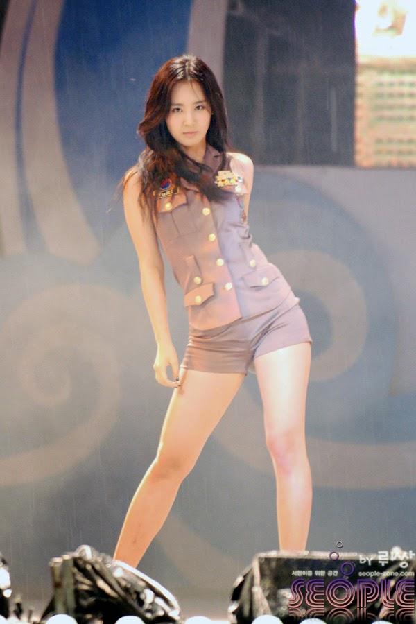 Hot and beautiful Kwon Yuri photo # 4