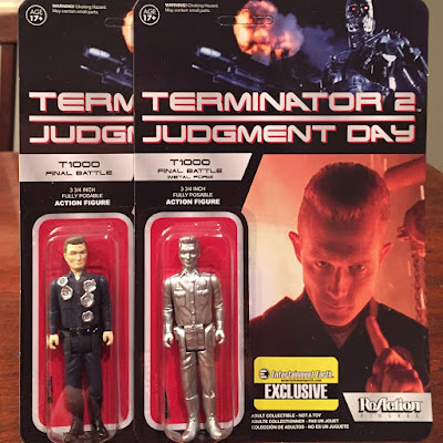"Toy Review: Entertainment Earth Exclusive Terminator 2 ""Final Battle"" T-1000 ReAction Retro Action Figures by Funko"