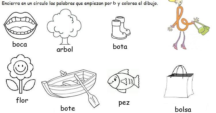 Results for Imagen Con La Letra B Para Colorear