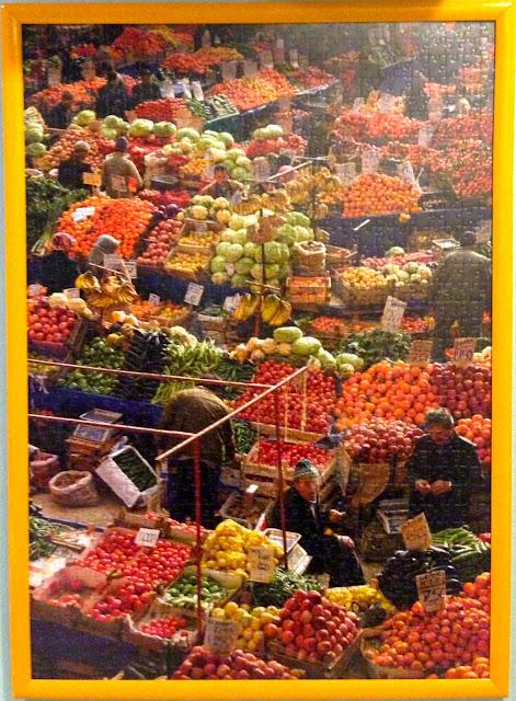 istanbul_Marketplace_1000_parça_ravensburger_puzzle_çerçeve_frame