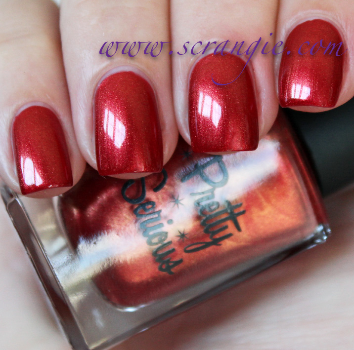Scrangie: Pretty Serious Cosmetics In The Night Collection Swatches ...