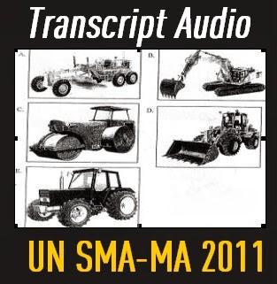 script audio listening SMA 2011 at ListeningSection.Blogspot.com