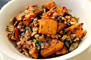 Spicy Pumpkin with Roasted Pumpkin Seeds and Pangrattato