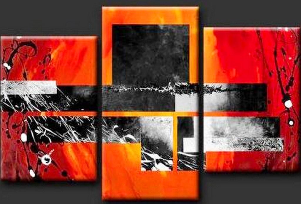 Cuadros pinturas oleos cuadro abstracto minimalista for Imagenes cuadros abstractos modernos