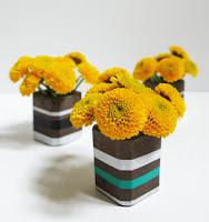http://www.plasteranddisaster.com/modern-cement-bud-vases/
