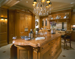 Kitchen in Honey Oak