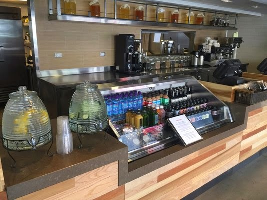 The Hive, Santa Monica, juice bar