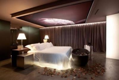 Luminaria romantic home with Lighting