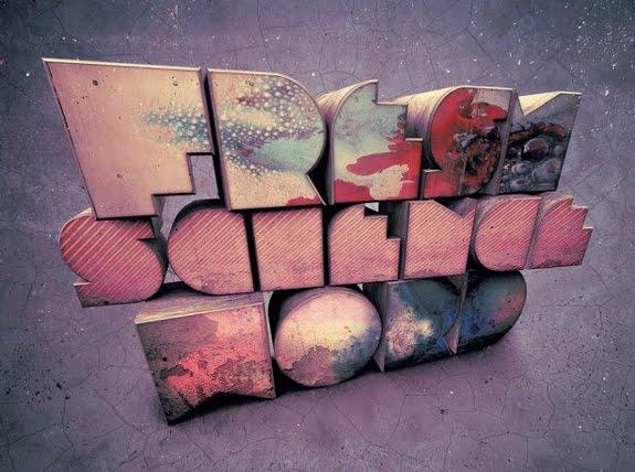 Blocks 3D Text Photoshop 30 Striking 3D Text in Photoshop Tutorials