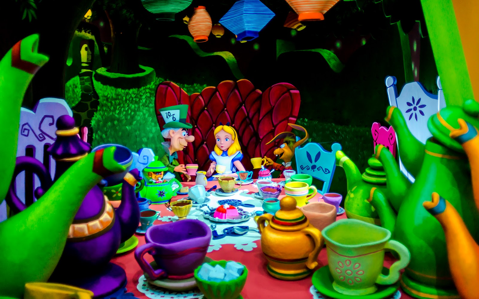 Finally The Mad Tea Party Scene Has Been Changed Up A Bit To Include Alice In It