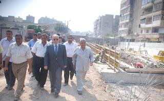 حسن النجار محافظ الشرقية، يطالب بإنشاء محطة قطار أمام جامعة الزقازيق