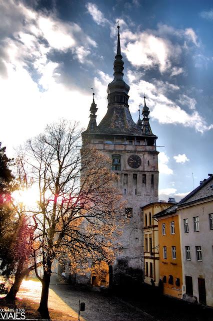 torre del reloj sighisoara