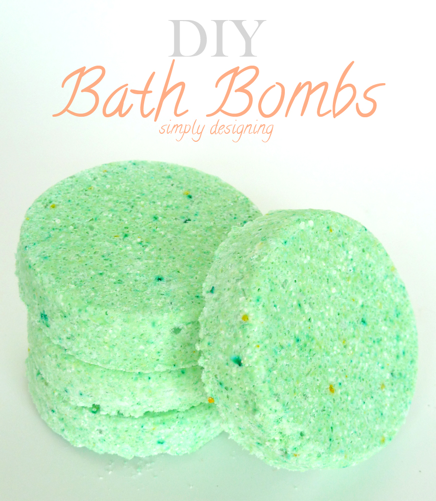 Bath bomb recipes make your favorite scent perfect for for Simply simple