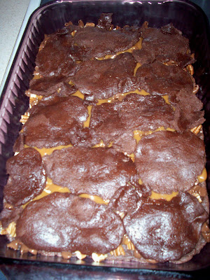 dough+done Caramel Turtle Brownies