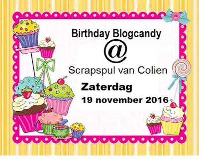 Verjaardag Colien
