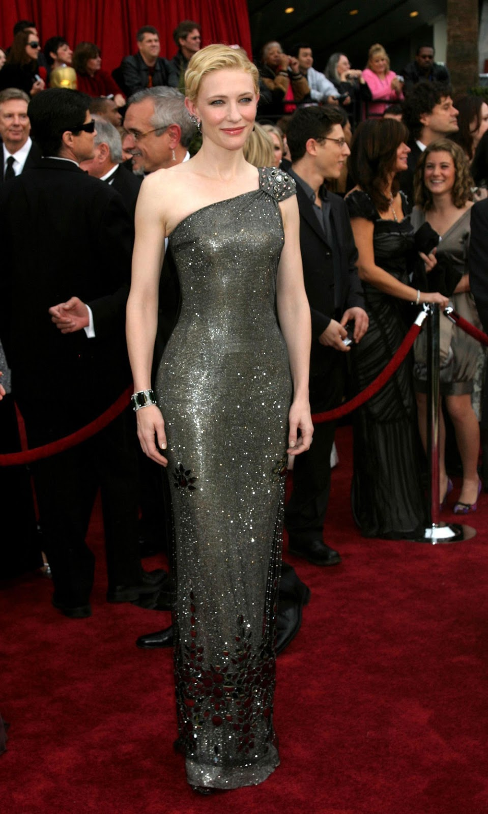 Cate Blanchett Oscar 2007