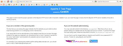 Imagen de Apache Http Server en CentOS 5.6