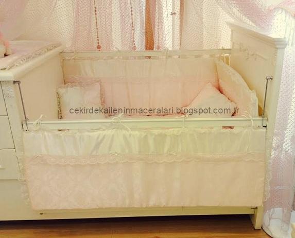 bebek yatağı örtü takımı
