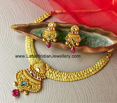 Kundan Gold Jewellery Set