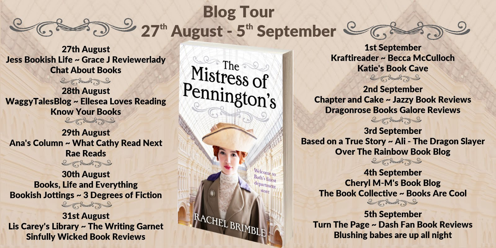 New The Mistress of Pennington's Tour!!