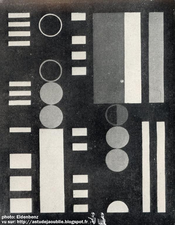 Art d'Aujourd'hui - série 3 - numéro 1 - Décembre 1951 (Directeur: André Bloc, Secretaire général de la rédaction: Edgard Pillet) Couverture: Vasarely
