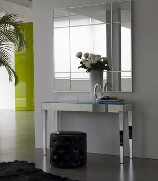 Hogar decora decorar un recibidor for Muebles de espejo
