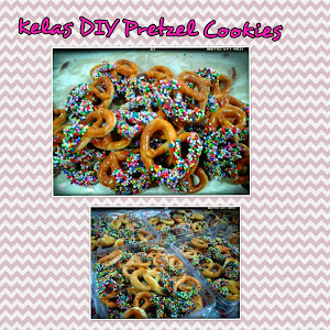 Kelas DIY Homemade Pretzel Cookies RM250