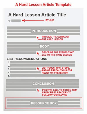 The Hard Lesson Article Template | Guide to Law Online