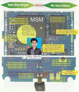 Samsung B309 MIC Solution