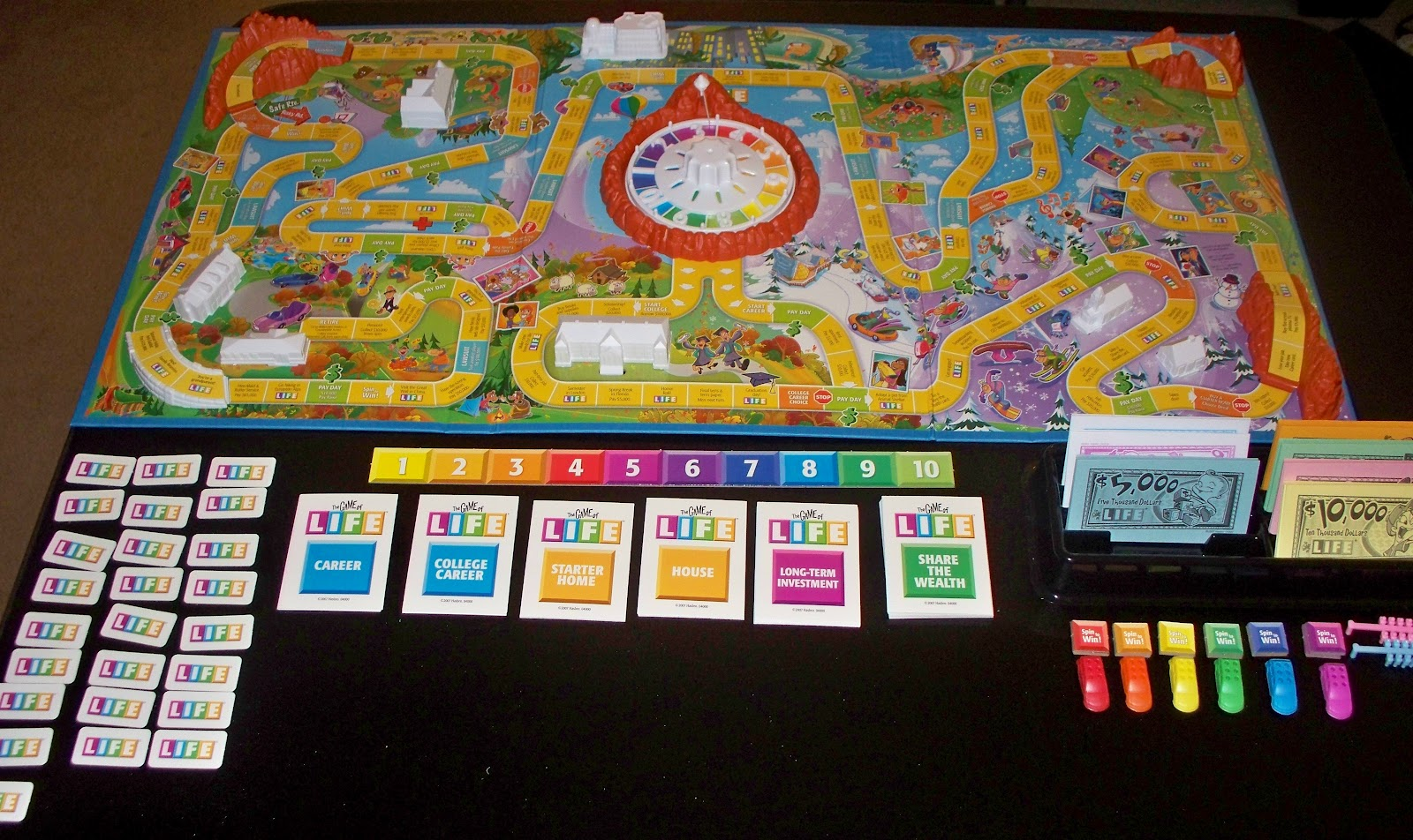 Life Game Board Spaces A New Leaf: The Gaming...