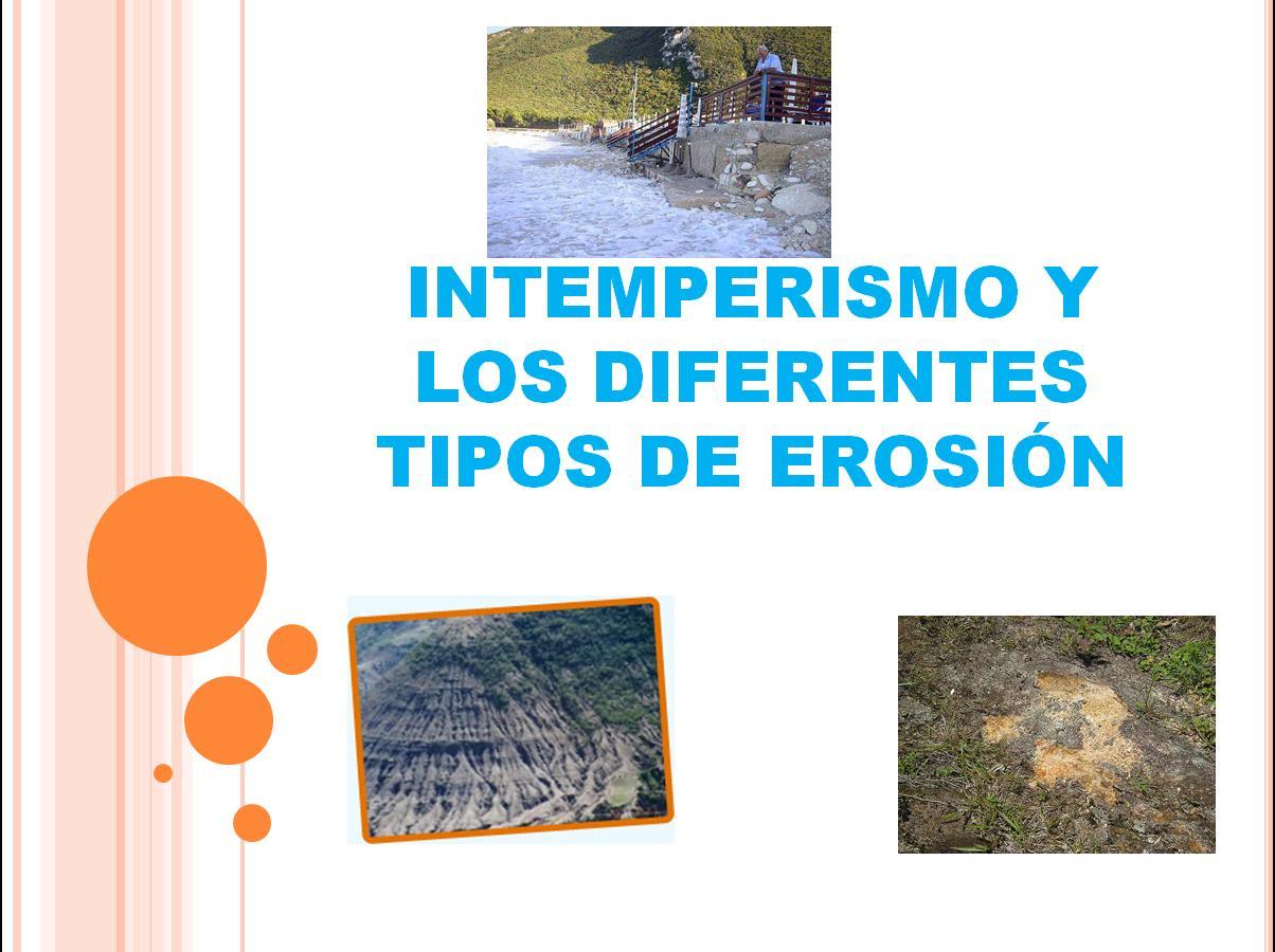 Cynthia intemperismo y los diferentes tipos de erosi n for Diferentes tipos de viveros