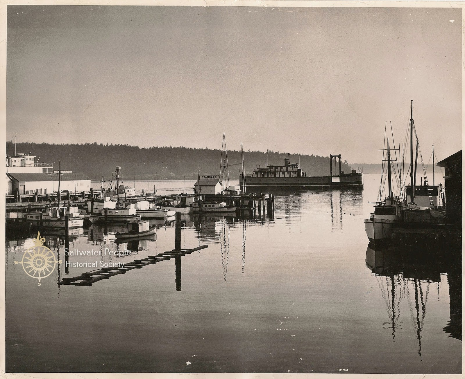 Saltwater people log the good ship vashon 453 am arrival at friday harbor wa 23 may 1948 the indian nereid daring service honey nvjuhfo Choice Image
