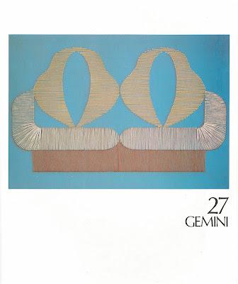 geminis en tejido