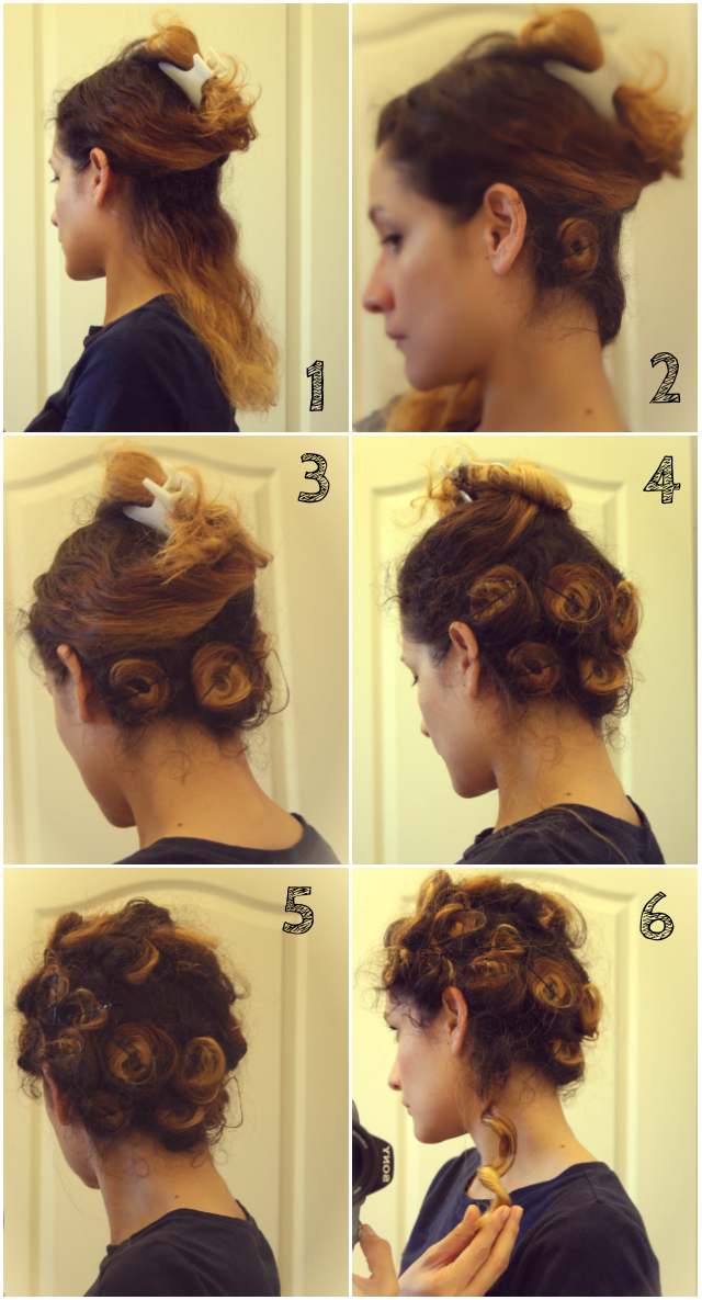 Clo By Clau How To Get Vintage Curls
